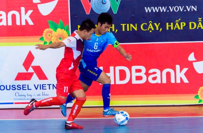 Lượt 9 VCK Giải Futsal HDBank VĐQG 2019 (ngày 6/5); Sahako vô địch lượt đi