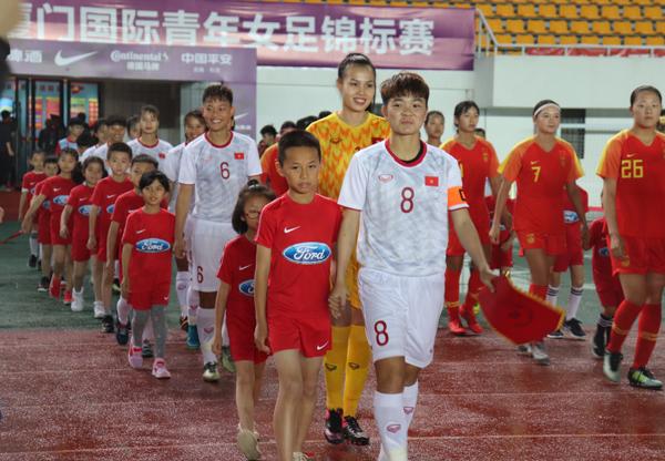 Giao hữu quốc tế (6/5), U19 nữ Việt Nam – U19 nữ Trung Quốc: 0-4