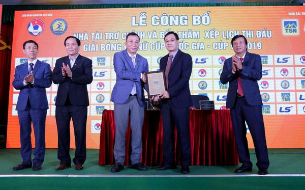 Thái Sơn Nam tài trợ Giải bóng đá Nữ Cúp QG trong lần đầu tiên được tổ chức