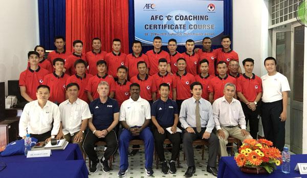 Khai giảng khóa học HLV Chứng chỉ 'C' AFC năm 2019 tại Tuy Hòa, Phú Yên