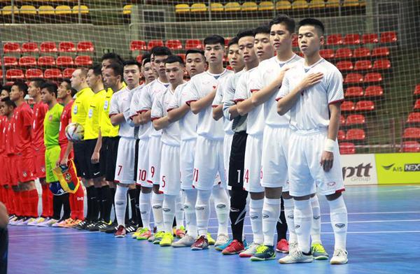 Lịch thi đấu của ĐT U20 futsal Việt Nam tại VCK U20 futsal châu Á 2019