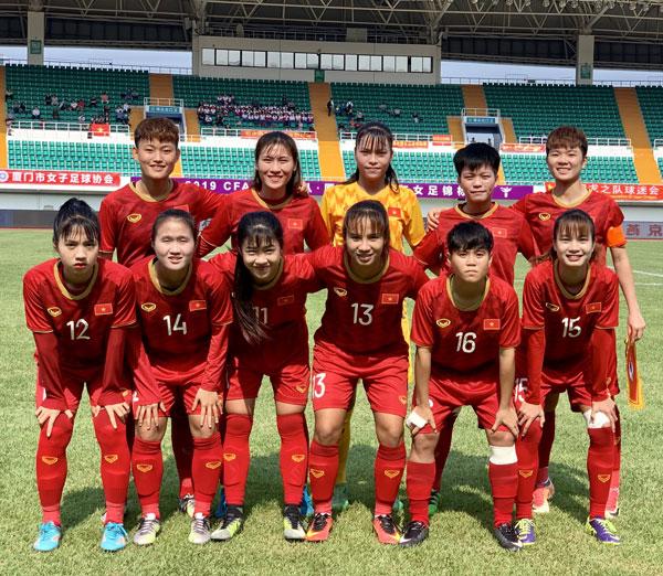 Giao hữu quốc tế (10/5), ĐT U19 nữ Việt Nam – ĐT U19 nữ Thái Lan: 0-0