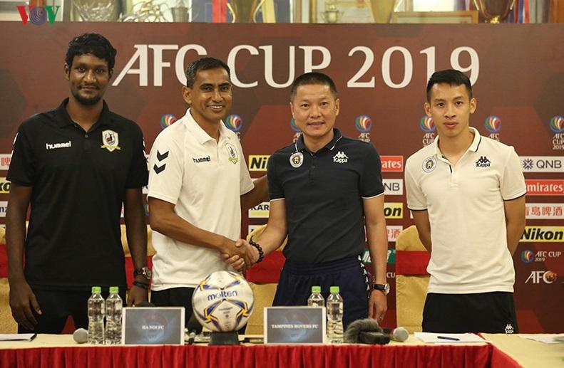 CLB Hà Nội đặt quyết tâm giành vé đi tiếp tại AFC Cup 2019
