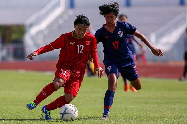 Thua Thái Lan 0-1, Việt Nam tranh HCĐ giải U15 nữ Đông Nam Á 2019
