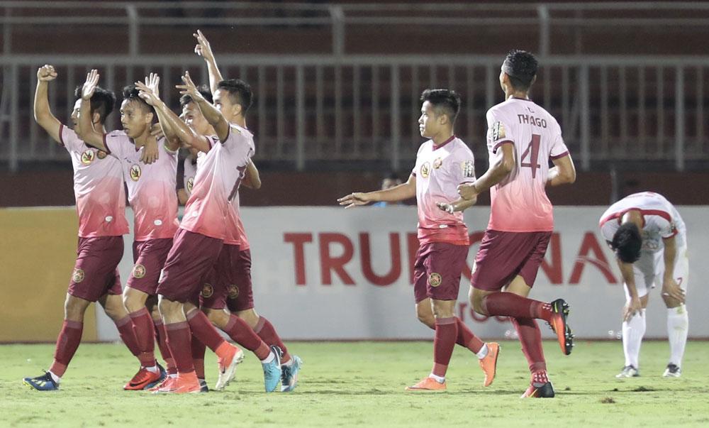 Vòng 10 Wake-up 247 V.League 1-2019: Hai đội bóng của TP.HCM thăng hoa