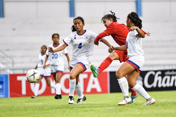 Thắng Philippines 1-0, Việt Nam giành HCĐ giải U15 nữ ĐNA 2019