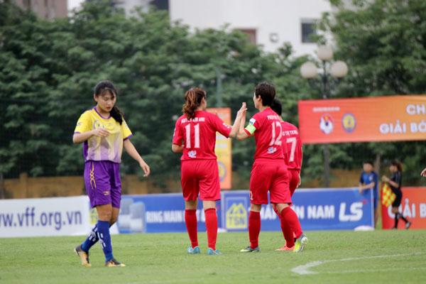 Khai mạc giải Nữ Cúp Quốc gia – Cúp LS 2019: Hà Nội thể hiện sức mạnh