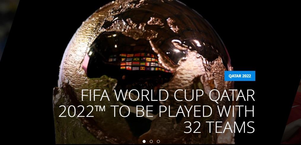 VCK FIFA World Cup 2022 sẽ có sự tham dự của 32 đội tuyển