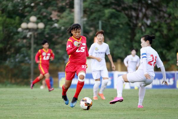 Lượt 2 giải Nữ Cúp Quốc gia – cúp LS 2019: TP.HCM II cầm chân TNG. Thái Nguyên