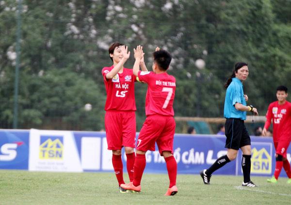 Giải Nữ cúp Quốc gia -  cúp LS 2019: Hà Nội thắng nhẹ trẻ TP.HCM, bốc thăm xác định vị trí nhì bảng B
