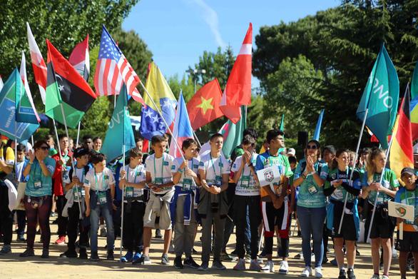 Cờ Việt Nam tung bay ở World Cup trẻ em 2019