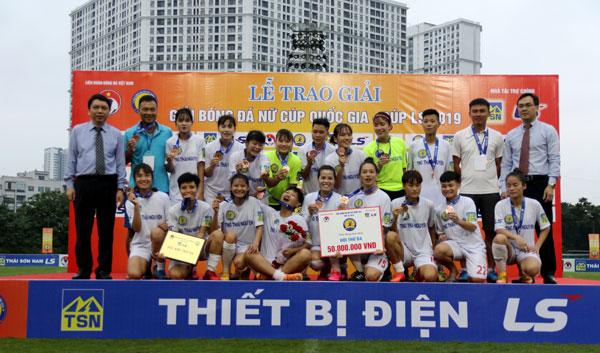 TNG Thái Nguyên giành huy chương Đồng giải nữ Cúp Quốc gia – cúp LS 2019