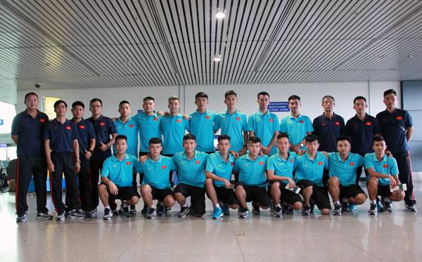 ĐT U20 futsal Việt Nam lên đường sang Iran tập huấn, sẵn sàng gây bất ngờ tại VCK châu Á