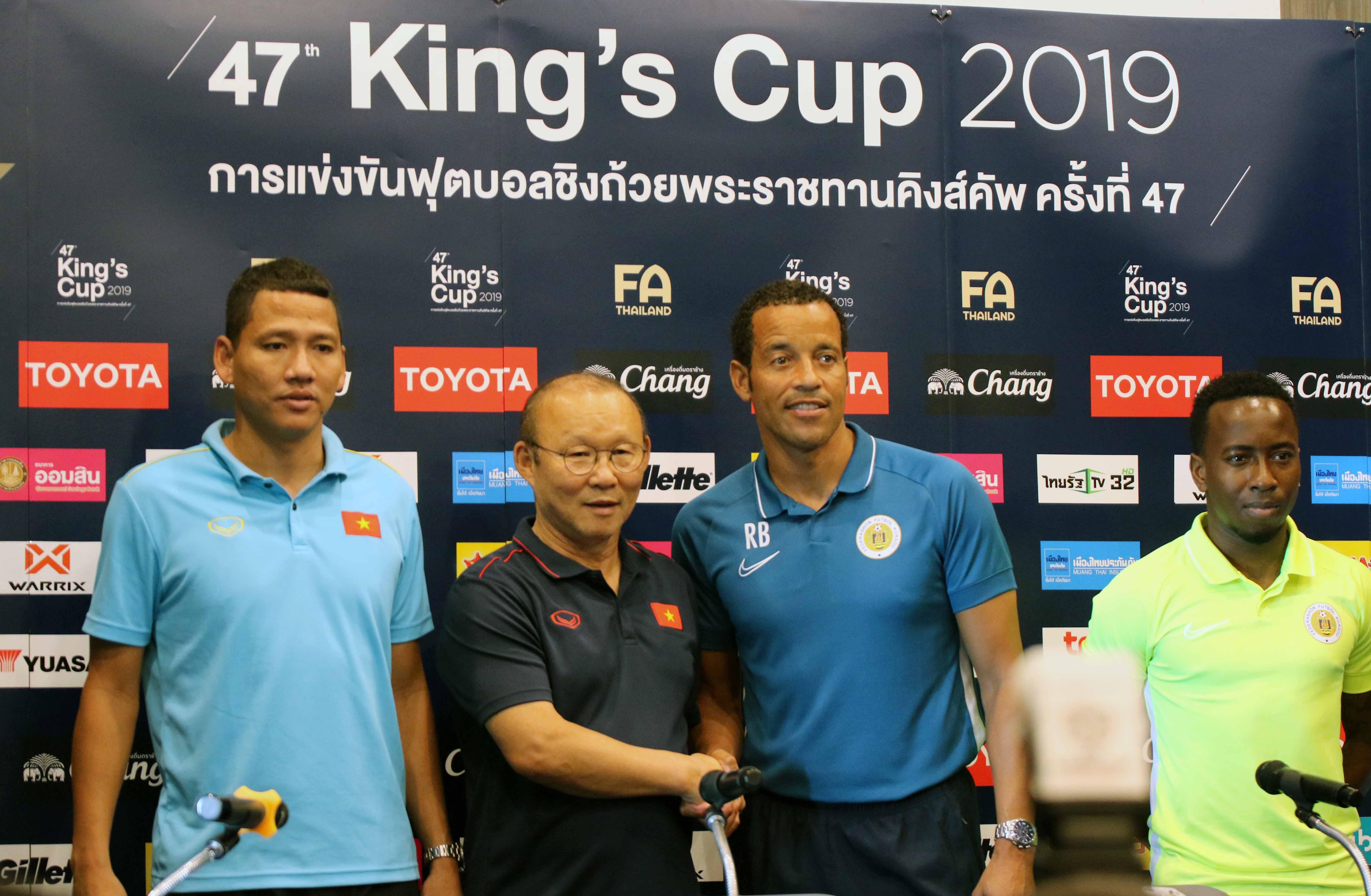 Phát biểu trước trận chung kết King's Cup 2019: Việt Nam và Curacao đều sẵn sàng nhập cuộc