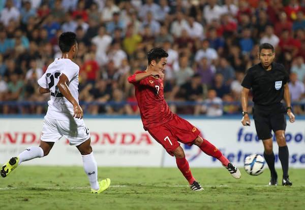 Việt Hưng lập siêu phẩm, U23 Việt Nam đánh bại U23 Myanmar