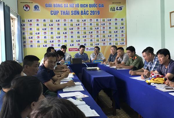 Giải bóng đá nữ VĐQG Cúp Thái Sơn Bắc 2019: Sẵn sàng cho ngày khai mạc