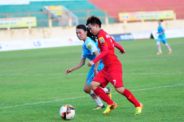 Khai mạc giải bóng đá Nữ VĐQG - Cúp Thái Sơn Bắc 2019: ĐKVĐ khởi đầu thuận lợi