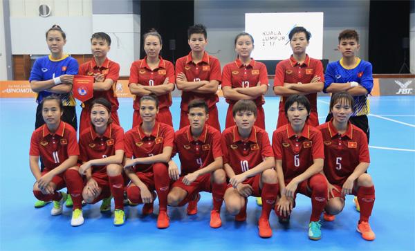 Kế hoạch hoạt động của ĐT Futsal Nữ Quốc gia 2019