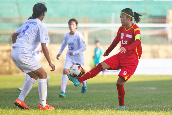 Vòng 2 giải BĐ Nữ VĐQG - Cúp Thái Sơn Bắc 2019 (14/6): Hà Nội chia điểm TP.HCM I