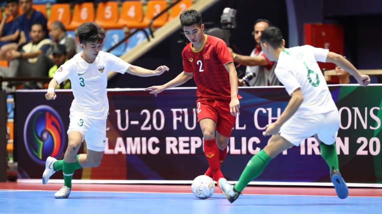 Nỗ lực ngược dòng bất thành, U20 futsal Việt Nam dừng chân tại Tứ kết giải châu Á