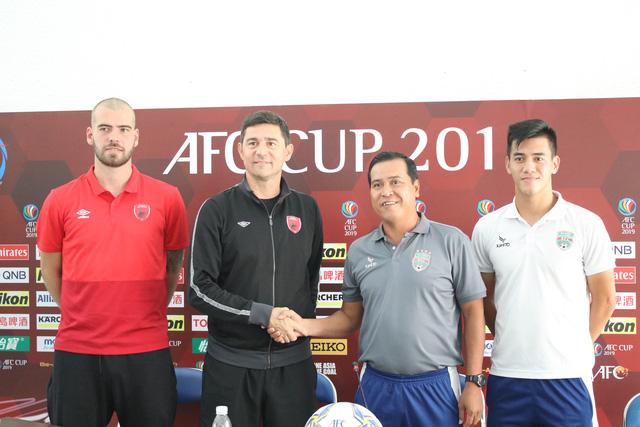 B.Bình Dương quyết giành lợi thế ở bán kết lượt đi AFC Cup 2019