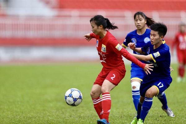 Vòng 4 giải bóng đá Nữ VĐQG – Cúp Thái Sơn Bắc 2019: Ứng cử viên so tài