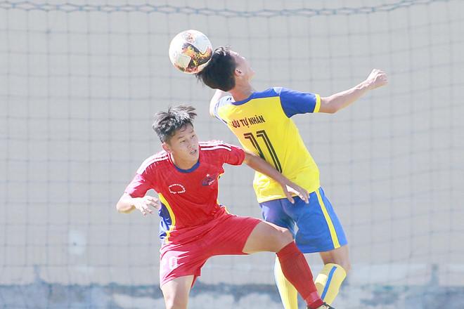 Kết quả vòng loại Giải vô địch U21 QG Báo Thanh Niên 2019 (bảng B, ngày 22/6)