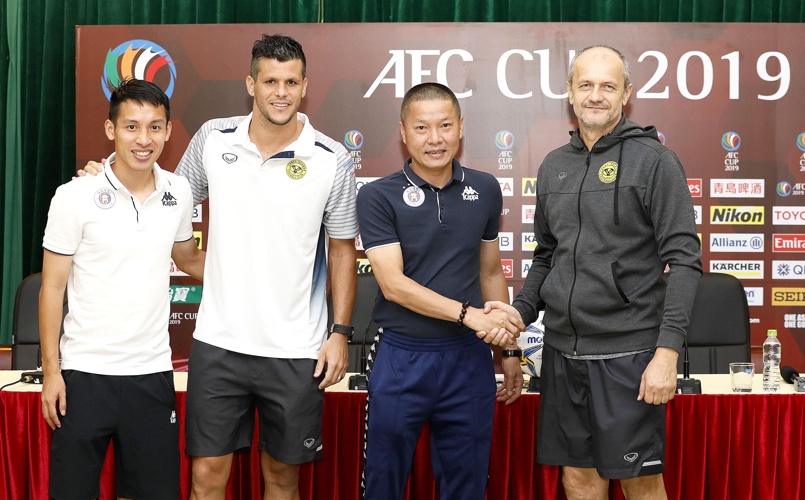 Hà Nội và Ceres Negros quyết tâm cao trước trận bán kết lượt về khu vực Đông Nam Á- AFC Cup 2019