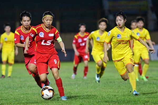 Vòng 5 giải BĐ nữ VĐQG - Cúp Thái Sơn Bắc 2019 (24/6): Đánh bại ĐKVĐ, TP.HCM I lên ngôi đầu