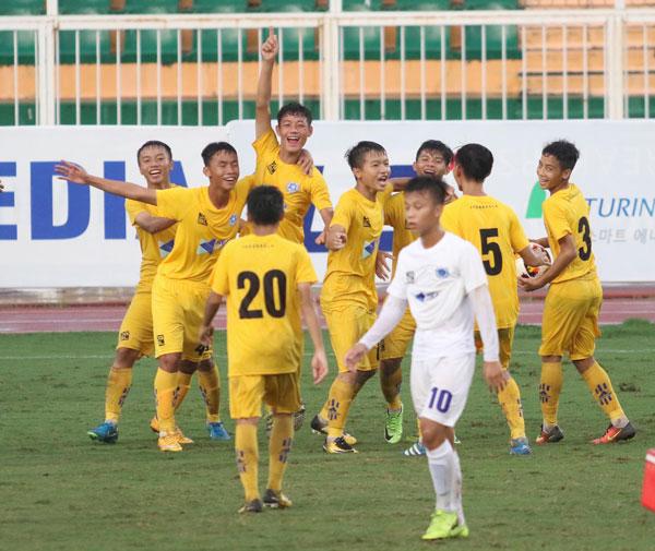 Thắng SHB Đà Nẵng 2-0, SLNA giành quyền tham dự trận Chung kết U15 Quốc gia - Next Media 2019