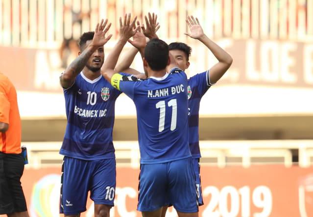 B.Bình Dương gặp Hà Nội trong trận chung kết AFC Cup 2019 khu vực Đông Nam Á