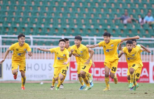Thắng Viettel sau loạt đá luân lưu, Thanh Hóa vào chung kết U15 Quốc gia - Next Media 2019