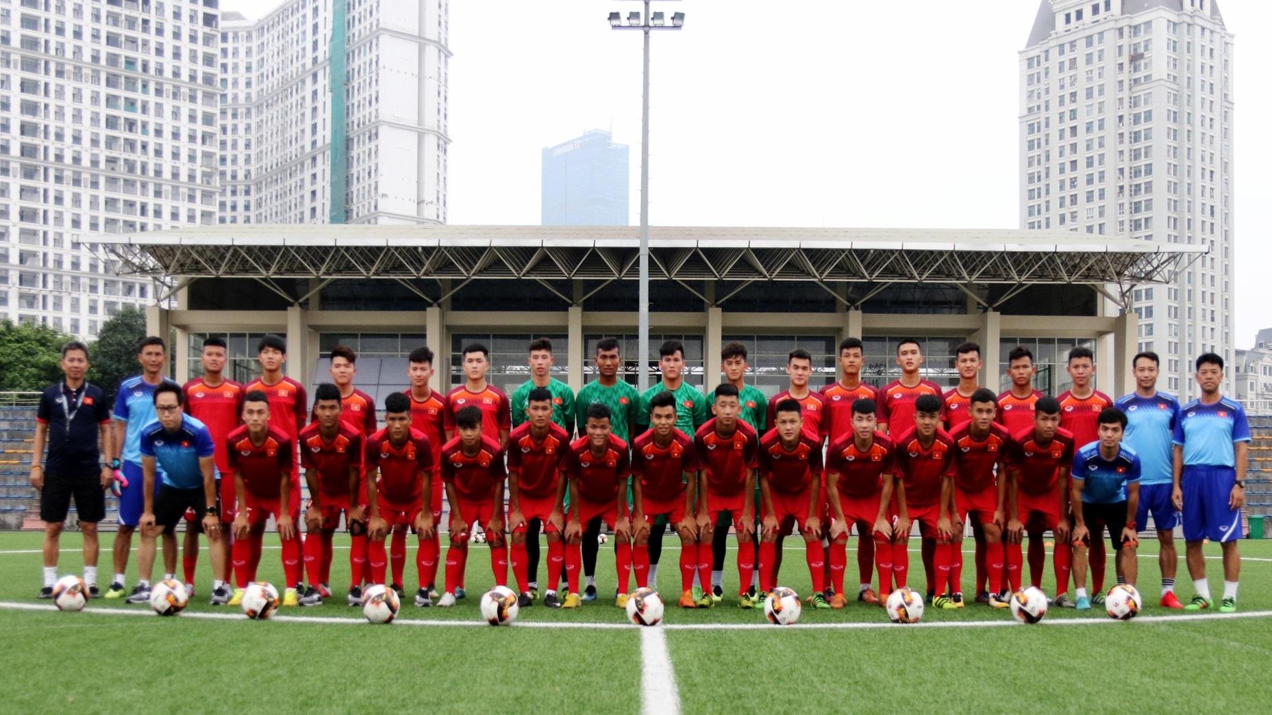 ĐT U18 Việt Nam tập trung chuẩn bị cho Giải vô địch U18 Đông Nam Á 2019