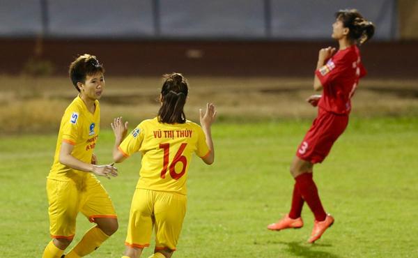 Vòng 6 giải BĐ nữ VĐQG - Cúp Thái Sơn Bắc 2019: ĐKVĐ khẳng định sức mạnh