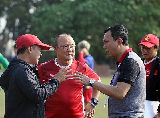 """Phó Chủ tịch VFF Trần Quốc Tuấn: """"HLV Park Hang-seo sẽ nhận được sự đãi ngộ xứng đáng"""""""