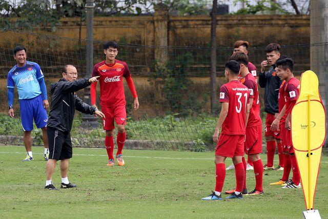 HLV Park Hang-seo triệu tập 18 cầu thủ U22 Việt Nam cho đợt tập trung ngắn hạn tháng 7/2019