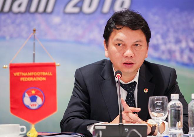 """Tổng thư ký LĐBĐVN Lê Hoài Anh: """"Hợp tác với các công ty tiếp thị chuyên nghiệp mang đến giá trị lớn cho bóng đá"""""""