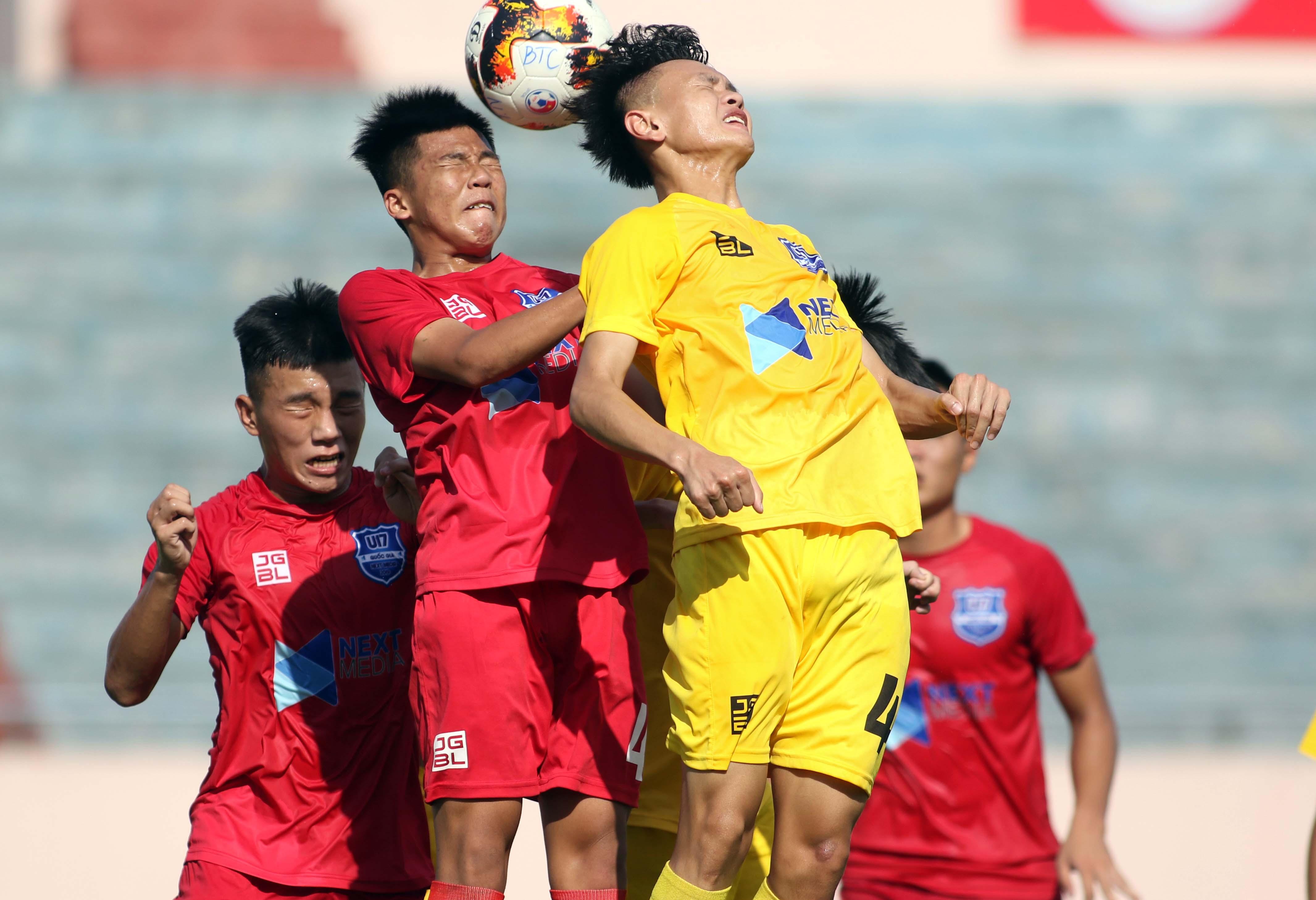 VCK Giải vô địch U17 QG- Next Media 2019 (bảng B): Thanh Hoá và PVF ghi danh vào bán kết