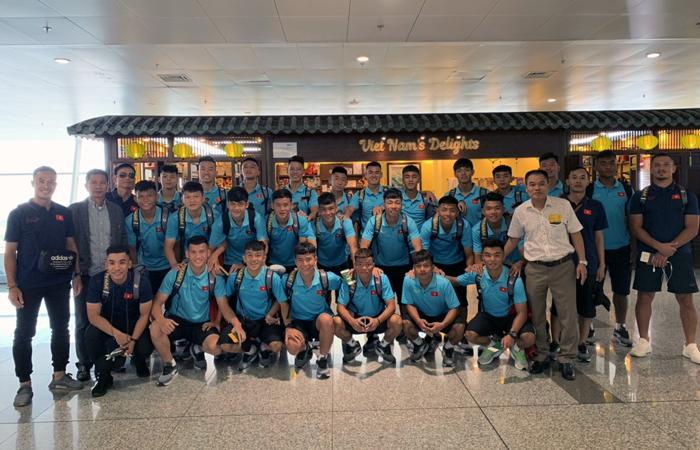 ĐT U18 Việt Nam lên đường sang Nhật Bản tập huấn