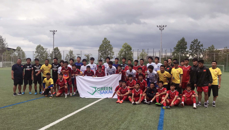 Đá tập tại Osaka, U15 Việt Nam vs. U18 Học viện Gamba Osaka: 0-5