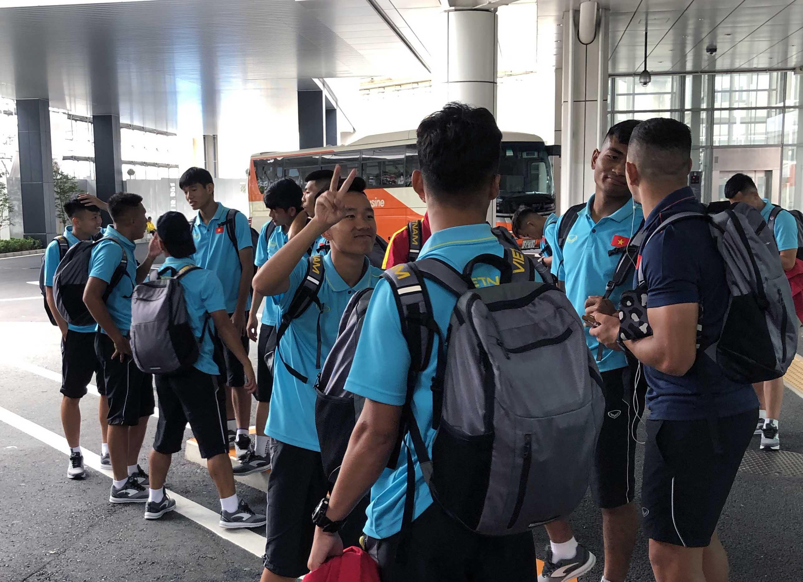 ĐT U18 Việt Nam đã đặt chân tới Gotemba, sẵn sàng cho guồng quay mới