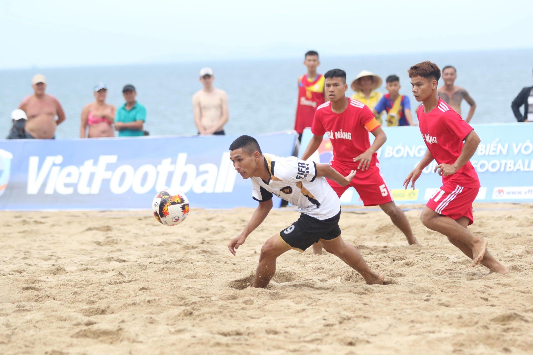 Đà Nẵng khởi đầu thuận lợi tại Giải Bóng đá Bãi biển VĐQG- Cúp VietFootball 2019