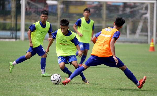 ĐT U15 Việt Nam trở lại tập luyện, điều chỉnh điểm rơi cho Giải vô địch U15 Đông Nam Á 2019