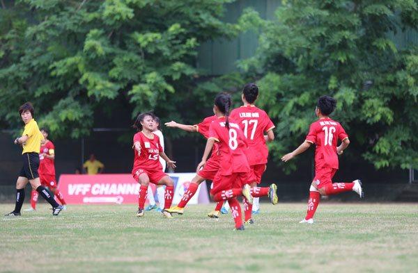 Lượt trận 4 giải bóng đá nữ Vô địch U16 Quốc gia 2019: Hà Nội tiếp mạch thắng