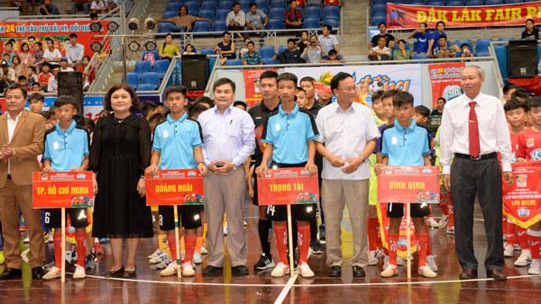 Khởi tranh VCK giải bóng đá Nhi đồng toàn quốc - Cúp KUN Siêu Phàm 2019