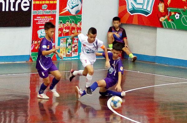 Xác định được8 đội vào vòng Tứ kếtgiải bóng đá Nhi đồng toàn quốc - Cúp KUN Siêu Phàm 2019