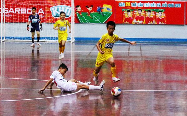 Tứ kết giải bóng đá Nhi đồng toàn quốc - Cúp KUN Siêu Phàm 2019