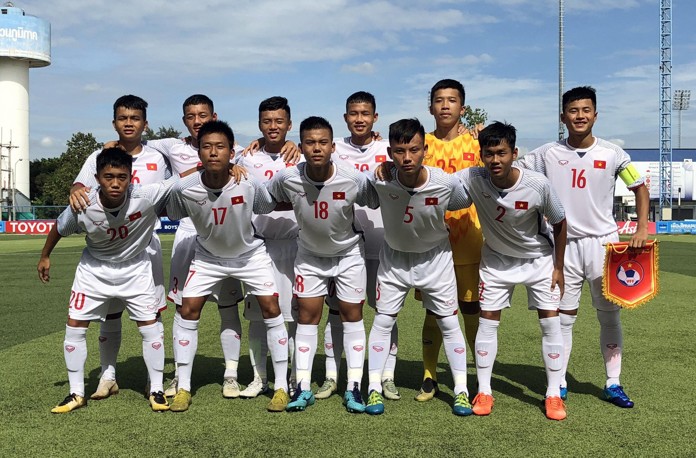 Giải vô địch U15 Đông Nam Á 2019, Việt Nam vs. Singapore: 1-0