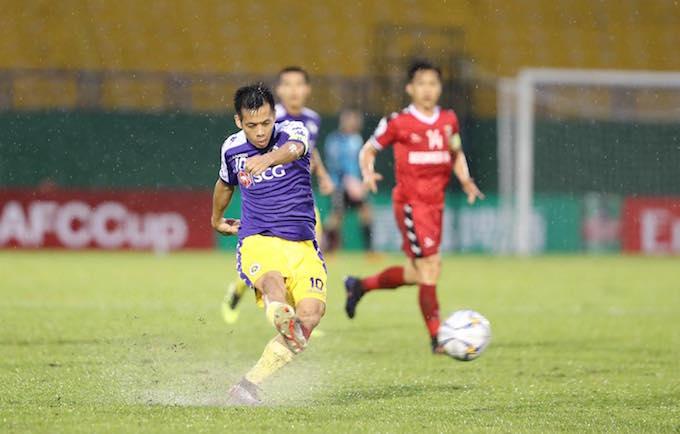 Chung kết AFC Cup 2019 (khu vực ĐNA):B.BD 0-1 Hà Nội FC, Văn Quyết giúp Hà Nội có lợi thế