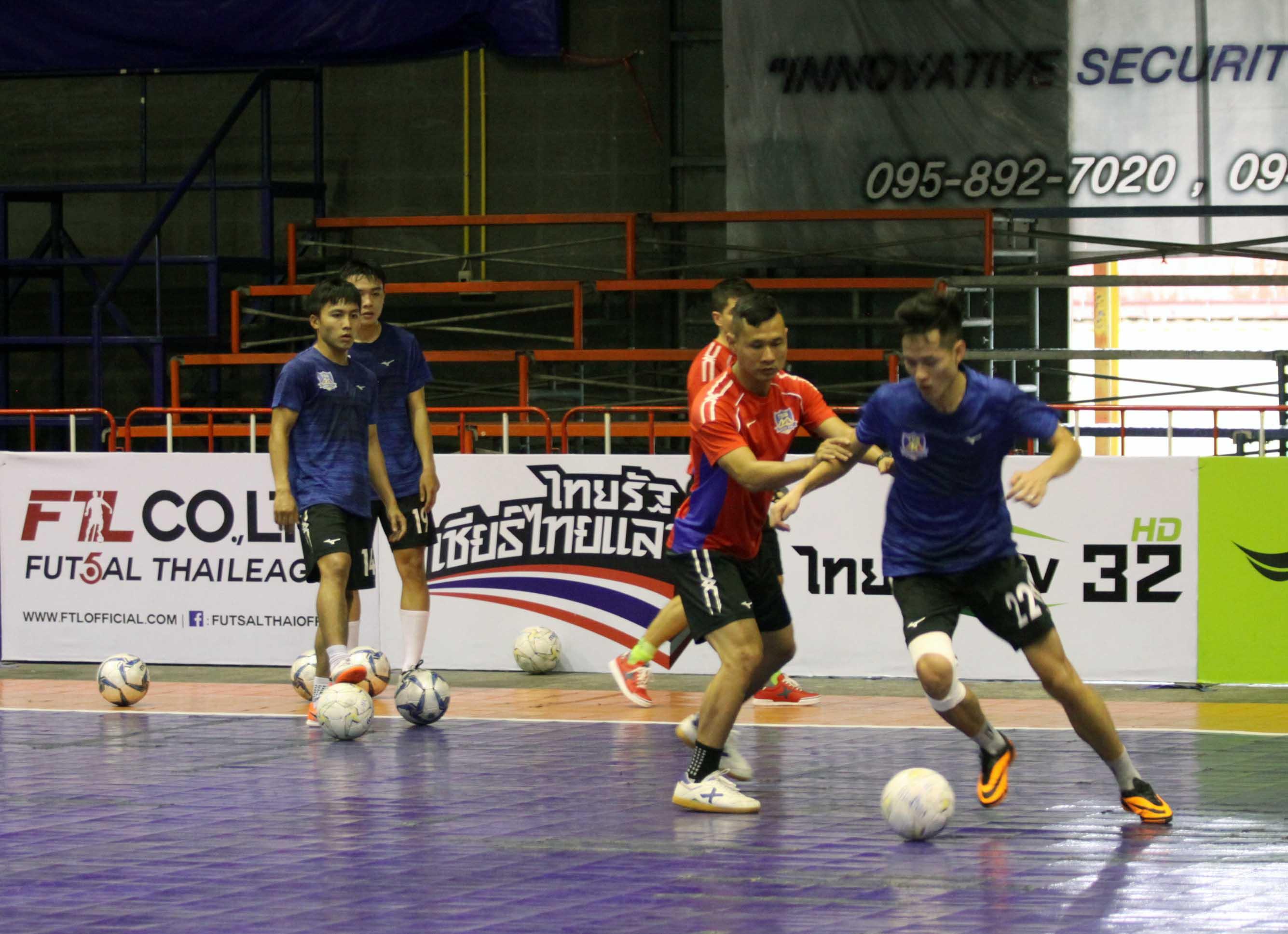 CLB Thái Sơn Nam trở lại tập luyện, chuẩn bị cho trận giao hữu thứ hai tại Thái Lan